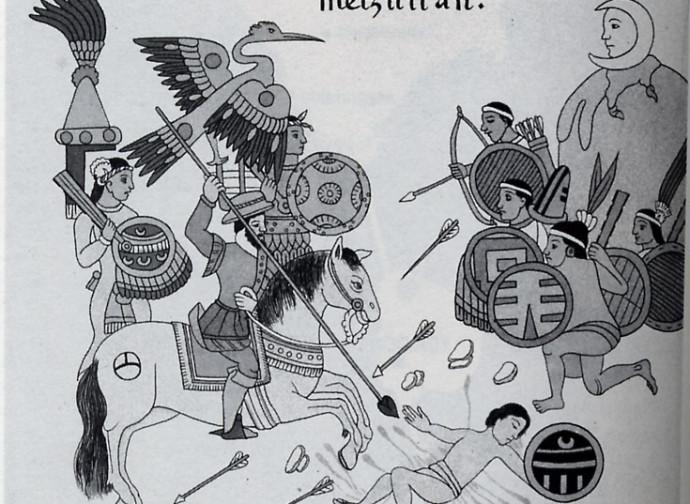 Conquistadores, battaglia contro gli Aztechi