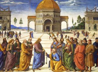 La consegna delle chiavi, Gesù sancisce il primato di Pietro