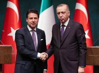 La bugie di un Erdogan benefattore dell'Italia