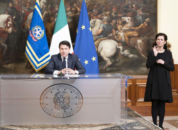 Il proclama di Giuseppe Conte del 21 marzo