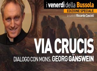 VIA CRUCIS, dialogo con Mons. Gänswein - IN DIRETTA