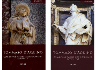 San Tommaso e il Vangelo di Giovanni, un commento che illumina