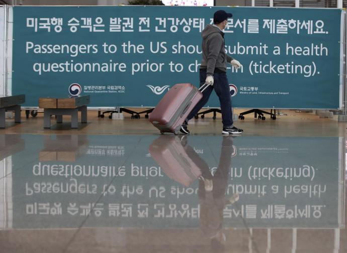 Corea del Sud, controlli sui passeggeri