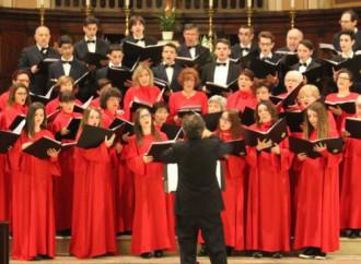 La discesa verso il basso del cantare a messa