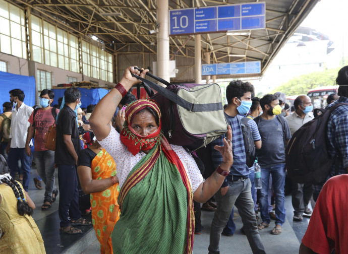 India, lockdown e fuga degli immigrati