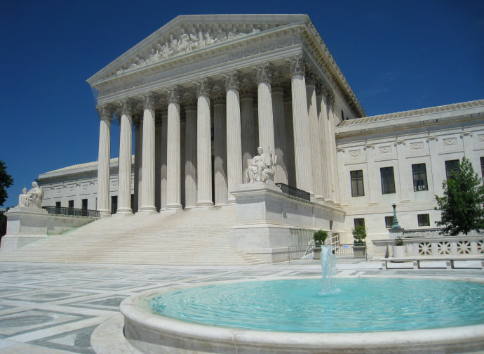 Sede della Corte Suprema degli Usa