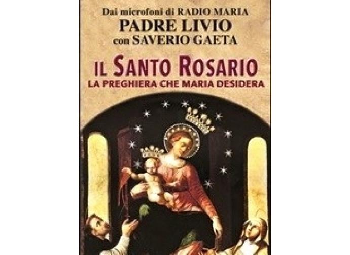 La copertina del libro: il Santo Rosario