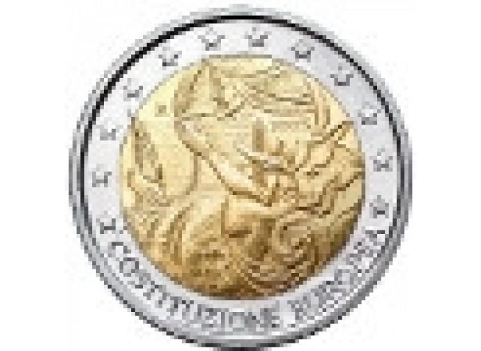 """Euro celebrativo della """"costituzione"""""""
