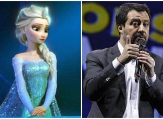 Salvini e Meloni non vogliono che Elsa di Frozen diventi gay
