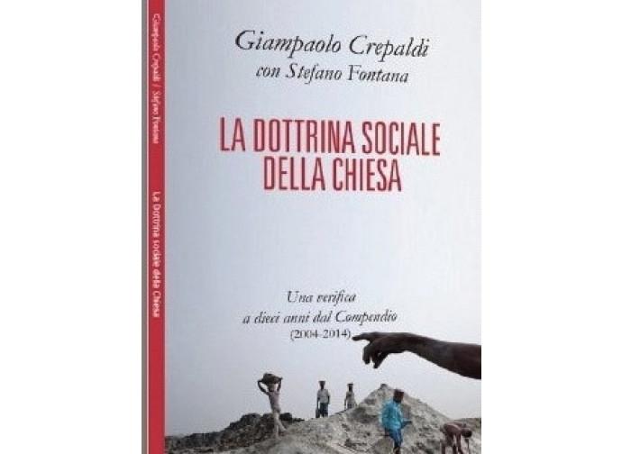 La copertina del libro intervista La Dottrina sociale della Chiesa