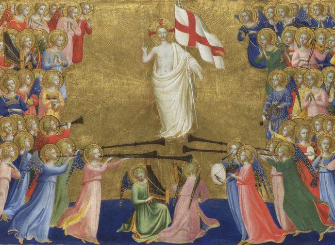 La glorificazione di Cristo nella corte del Paradiso