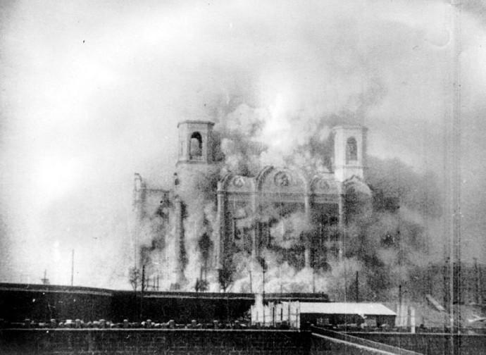 Unione Sovietica, demolizione della chiesa di Cristo Salvatore