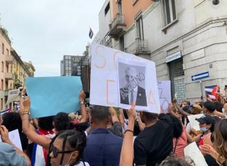 Cubani contro il regime, Black Lives Matter con la dittatura