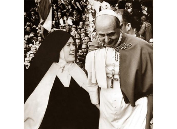 Paolo VI e suor Lucia
