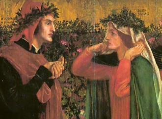 La moglie Gemma e Beatrice: in competizione per Dante?