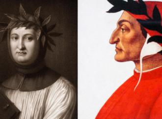 Se Petrarca scrisse per l'élite, Dante fu per il popolo
