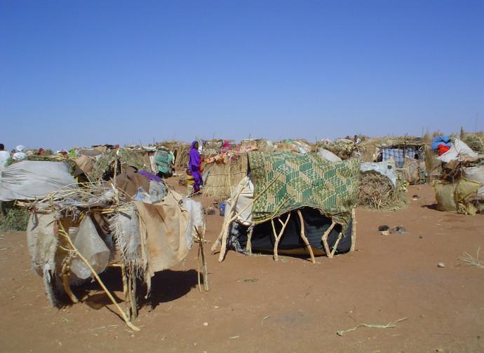 Sudan, campo rifugiati