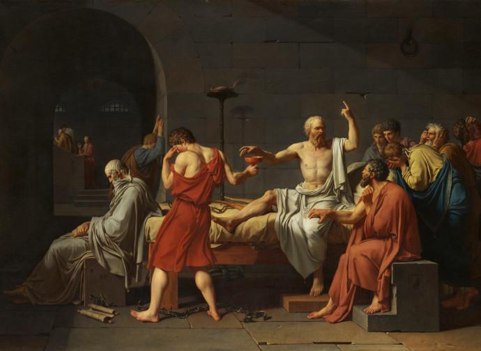 J. L. David, Morte di Socrate