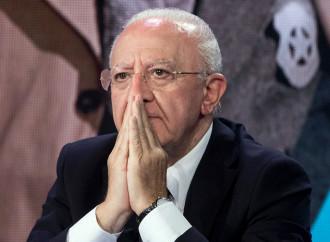 """Lo """"sceriffo"""" De Luca spieghi le spese per il Covid"""