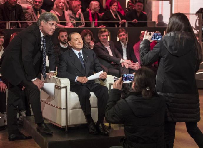 Del Debbio ospita Silvio Berlusconi