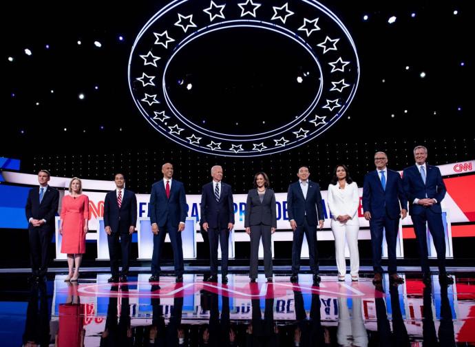 Il dibattito fra candidati Democratici