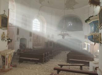 Croazia, il terremoto ha spazzato via molte chiese