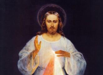 Gesù Misericordioso, l'immagine da porre sulla porta di casa