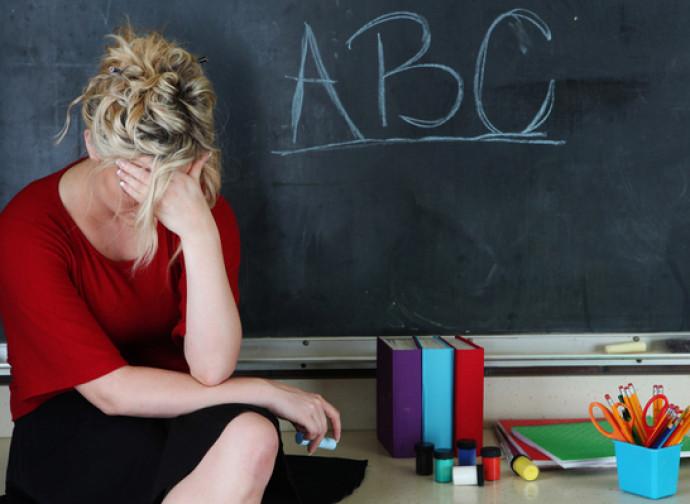 Insegnanti stressati