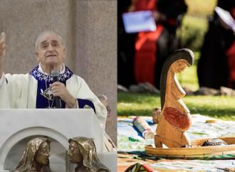 """Azcona, obispo amazónico: """"En esos ritos está el diablo"""""""