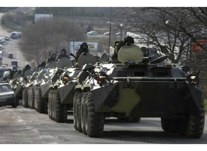 Reparti ucraini nel Donetsk