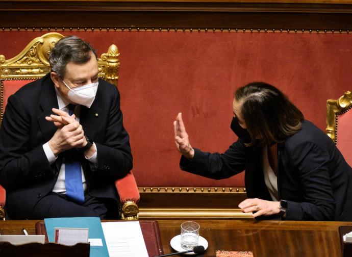 Draghi e Lamorgese