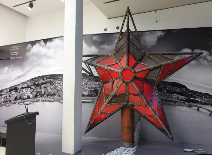 La stella rossa che dominava Budapest (foto di Stefano Magni)