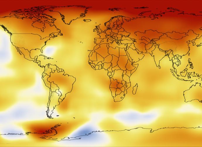 Mappa termica della Terra