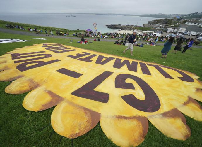 Manifestazione ecologista al G7