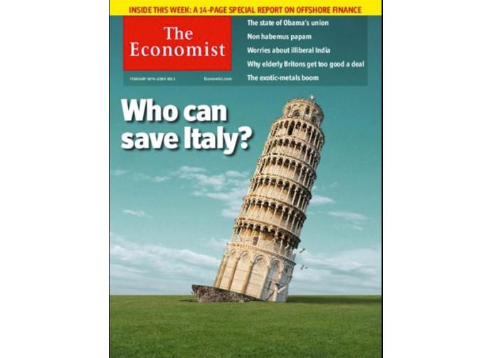 Storica copertina dell'Economist