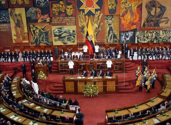 Il Parlamento dell'Ecuador