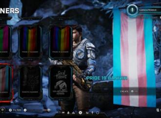 Bandiere LGBT in Gears for War