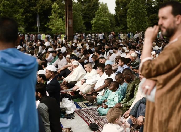 La fine del Ramadam a Torino