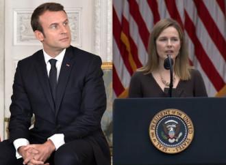 Messe, Macron irride i fedeli. Negli Usa Barrett decisiva