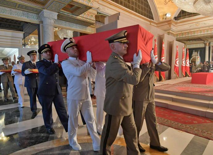 Tunisi, funerale di Essebsi