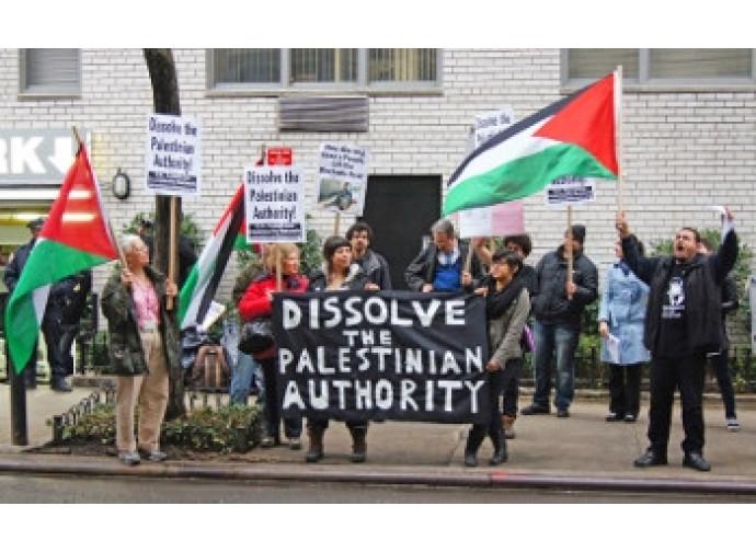 Protesta degli esuli palestinesi