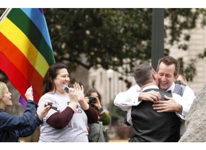 Manifestazione in favore dei matrimoni gay
