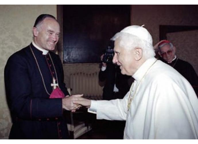 Benedetto XVI e Bernard Fellay
