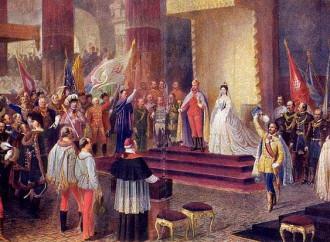 Francesco Giuseppe incoronato in Ungheria con la Messa di Liszt