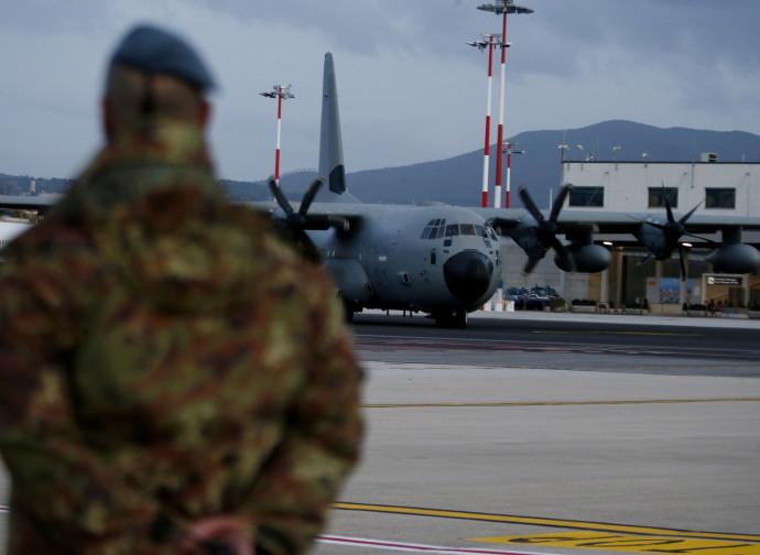 Il ritorno in Italia dei soldati feriti in Iraq