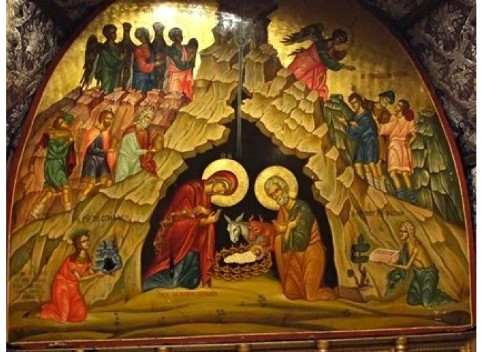 I mosaici restaurati nella Basilica di Betlemme