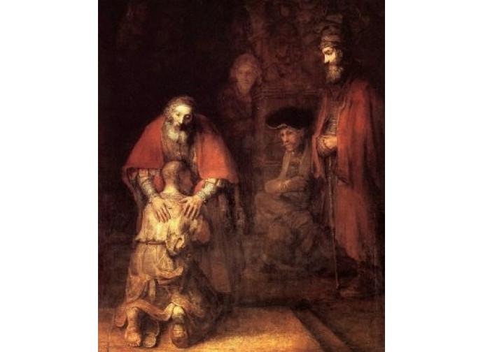 """Rembrandt, """"Il figliol prodigo"""""""