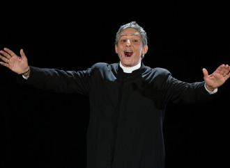 Sanremo, Fiorello e la fede buona solo per far ridere