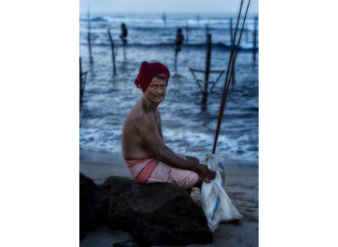 Pescatore tradizionale, Sri Lanka