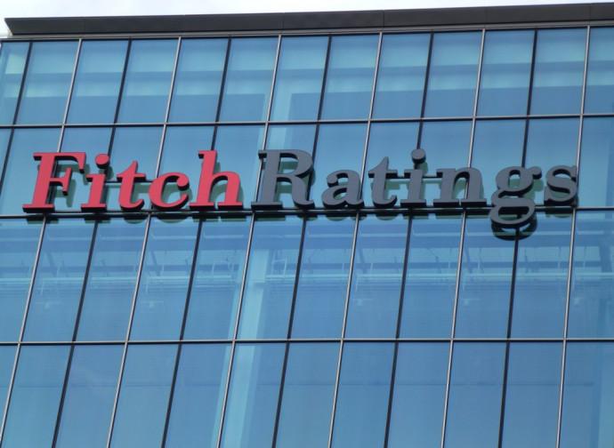La sede della Fitch, agenzia di rating
